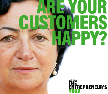 Know if your small business customers are happy