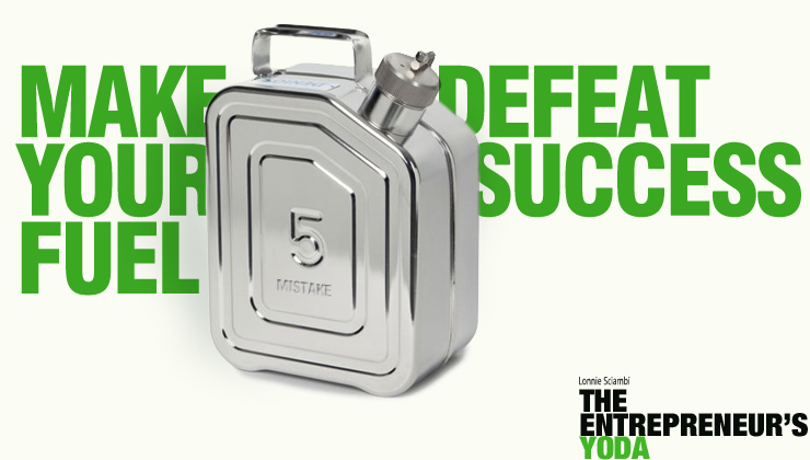 Make defeat fuel your small business success